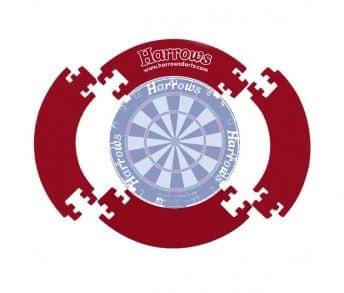 Harrows Surround 4 Piece Dartboard - kruh kolem terče - červený