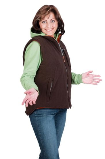 Cerva Dámská oboustranná zateplená vesta Roseville