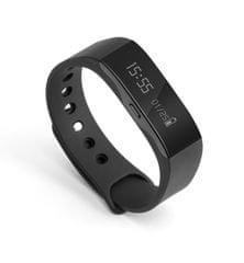 Technaxx fitnesz karkötő Trackfit, vízálló, Bluetooth 4.0, Android/iOS, fekete (TX-63)