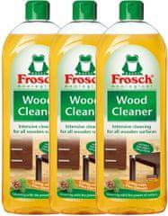 Frosch EKO čistič na dřevěné podlahy a povrchy 3x750ml