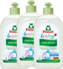 Frosch EKO 3x500 ml detergent za otroške stekleničke in dude