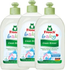 Frosch EKO 3x500ml Umývací prostriedok na dojčenské fľaše a cumlíky