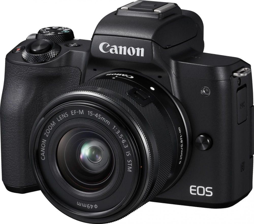 Canon EOS M50 + 15-45 Black (2680C012)
