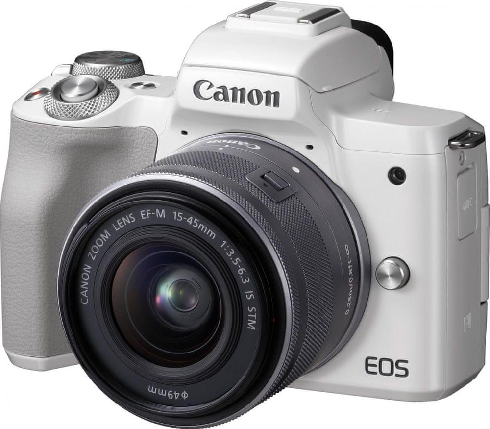 Canon EOS M50 + 15-45 White (2681C012)