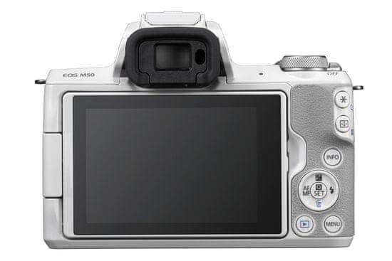 Canon Aparat fotograficzny EOS M50 + 15-45