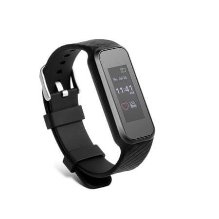Technaxx fitnesz karkötő HEART RATE, Bluetooth 4.0, Android/iOS, fekete (TX-81)