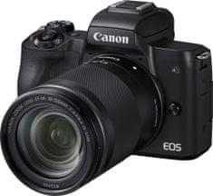 Canon EOS M50 + 18-150 + Cashback 1200 Kč! + 500 Kč na fotoslužby