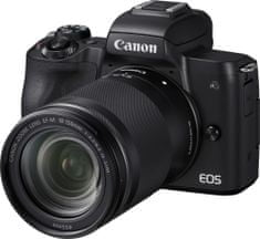 Canon EOS M50 + 18-150 + Cashback 50 €!