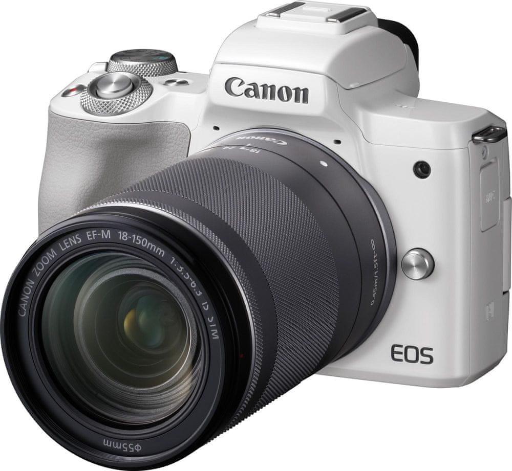 Canon EOS M50 + 18-150 White (2681C042)