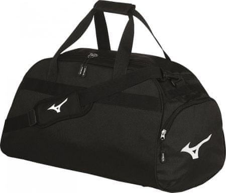 Mizuno športna torba Holdall Medium Black/White, črno-bela