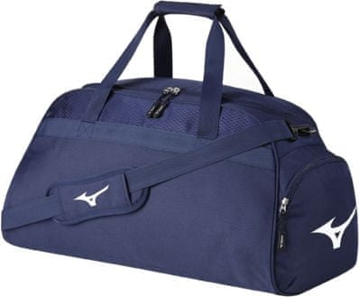 Mizuno športna torba Holdall Medium Navy/White, modro-bela