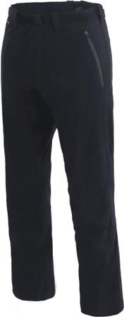 Hannah moške hlače Rob Anthracite, črne, XXL