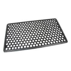 FLOMAT Gumová vstupní rohož Hexagon - 70 x 40 x 1,2 cm