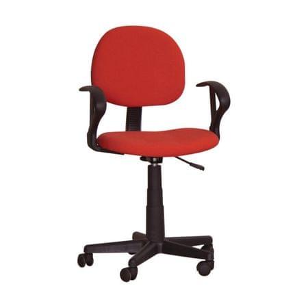 Kancelárska stolička TC3-227, červená