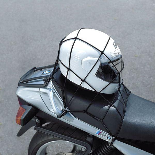 Held síťka na přilbu 40x40cm černá