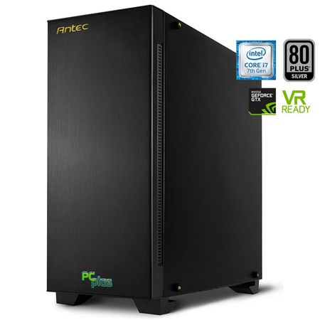 PCplus namizni računalnik Elite Gamer i7-7700/16GB/SSD240GB+2TB/GTX1070/FreeDOS (136552)