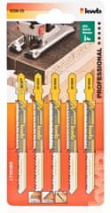 KWB list za vbodno žago, 100/75 mm, HCS, 5 kosov (620825)