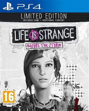 Square Enix Life is Strange: Before the Storm, Limited Edition (PS4)