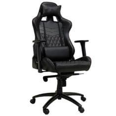 LC Power gamerski stol LC-GC-3, črn