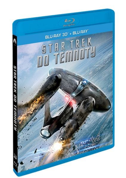 Star Trek: Do temnoty 2BD (3D+2D) - Blu-ray