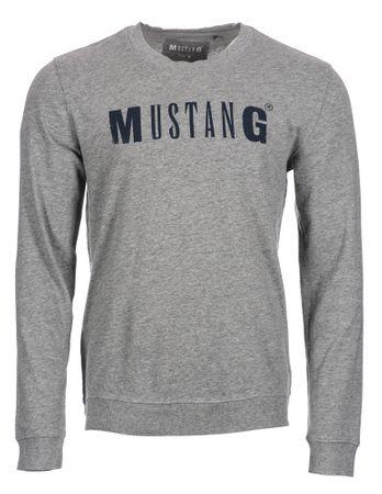 Mustang férfi pulóver XL szürke  ccbd1ab8d1