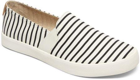 Roxy ženski mokasini Atlanta II J Shoe Tst White/Stripe, črtasti, 38