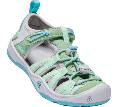 KEEN Moxie Sandal K Quiet Green/Aqua Sea US 12 (30 EU) gyermek szandál