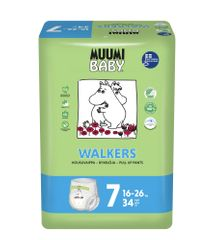 MUUMI BABY Walkers 7 Extra Large 16-26 kg (34 ks)