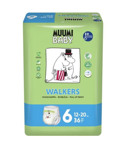 MUUMI BABY Walkers 6 Junior Pelenka (12-20 kg) 36 db