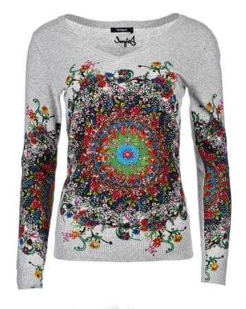 Desigual sweter damski S szary