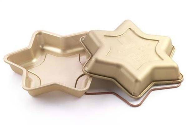 Silikomart Silikonová forma na dort – hvězda