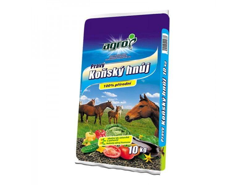 AGRO CS Koňský hnůj 10 kg