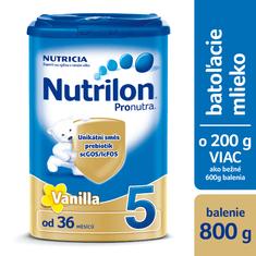 Nutrilon 5 Pronutra Vanilka 800g exp. únor 2019