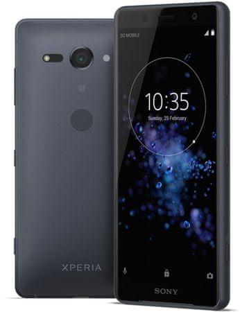 SONY Xperia XZ2 Compact okostelefon, DualSIM, Black