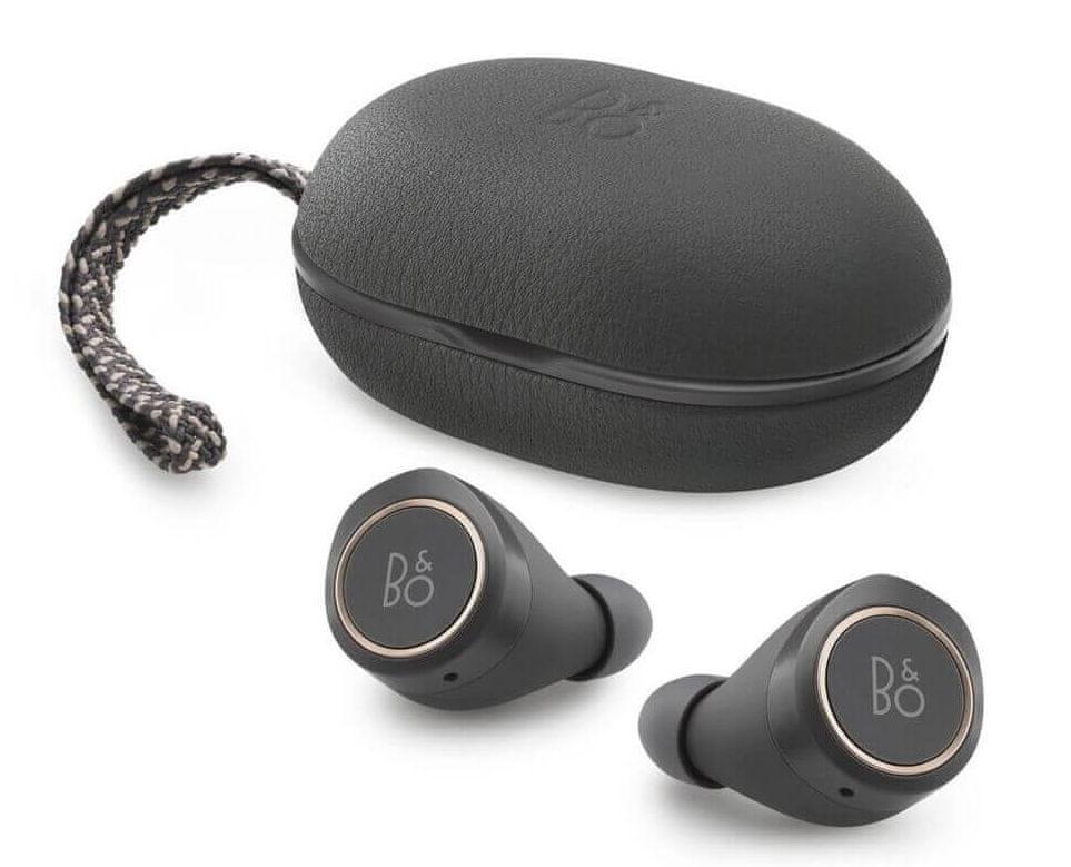 Bang & Olufsen Beoplay E8 bezdrátová sluchátka, šedá