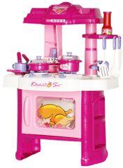 Let's play Interaktívna detská kuchynka s riadom