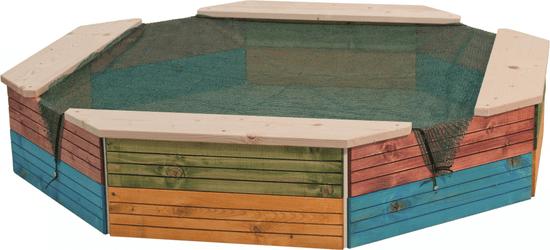 Woody Pieskovisko drevené- farebné