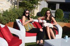 Dimenza Bordeaux zahradní sedací souprava bílá