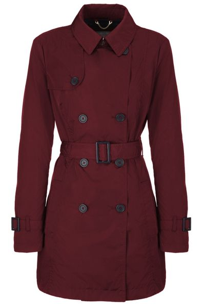 Geox dámský kabát XS vínová
