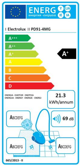 Electrolux PD91-4MG sesalnik