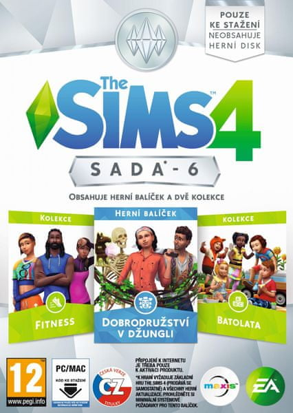 EA Games The Sims 4 Bundle Pack 6 / PC