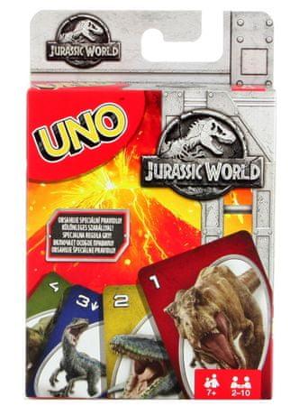 Mattel Uno Jurský svet