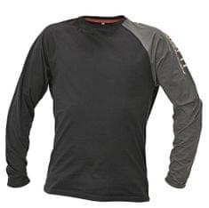 33083beb3d18 Assent Bavlnené tričko s dlhým rukávom Moros čierna M