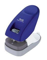 Sešívač bezsponkový PLUS 10 listů modrý
