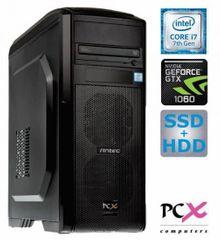PCX računalnik Extian F6209 i7-7700/16GB/SSD256+2TB/GTX1060/FreeDOS (138997)