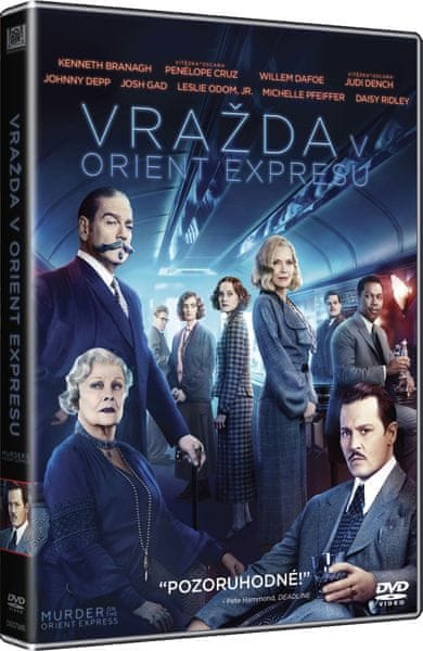 Vražda v Orient expresu - DVD