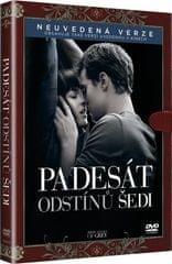 Padesát odstínů šedi (knižní edice)   - DVD