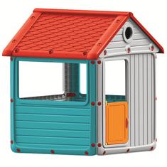 DOLU Gyerek kerti ház, műanyag, kék