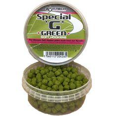 Bait-Tech Měkčené Pelety Soft Hookers Special G Green 90 g