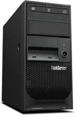 Lenovo računalnik TS150 E3-1225v6/8GB/HDD 2x1TB/FreeDOS (70UB001NEA)